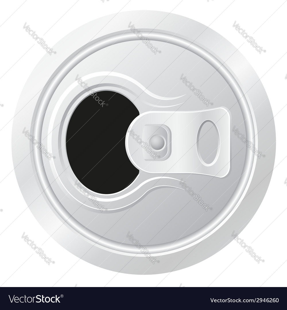 Can of beer 02 vector image