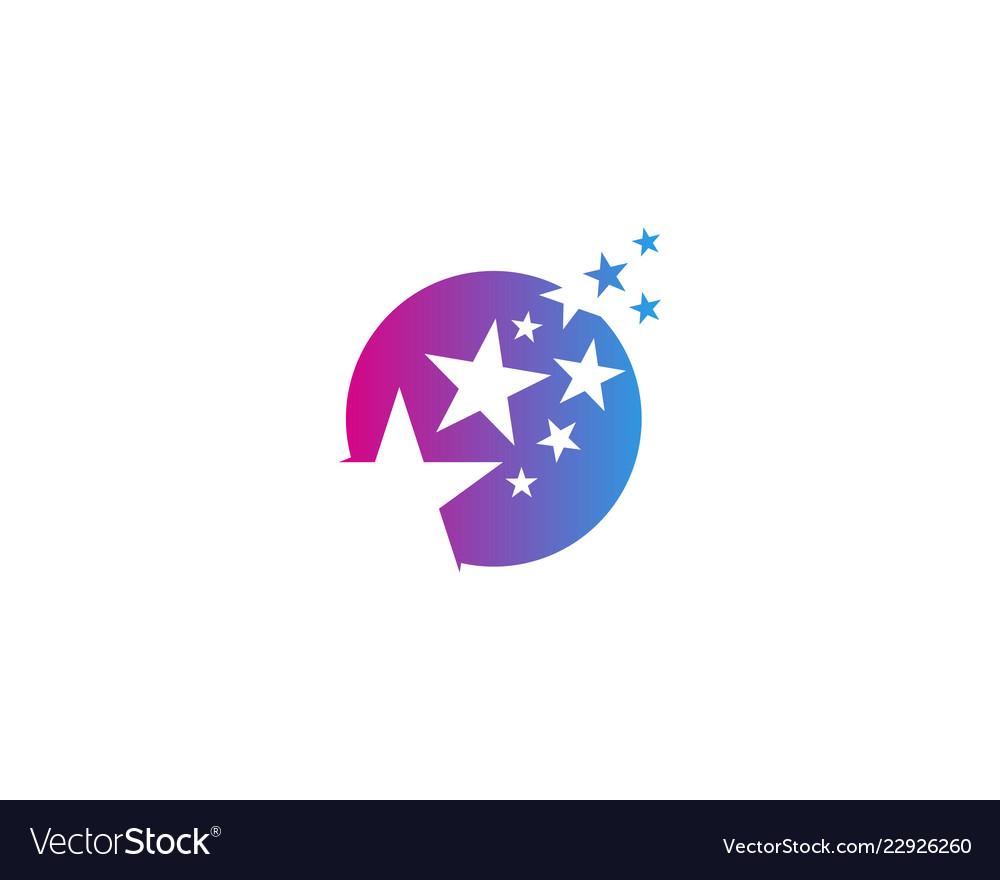 Star logo icon design
