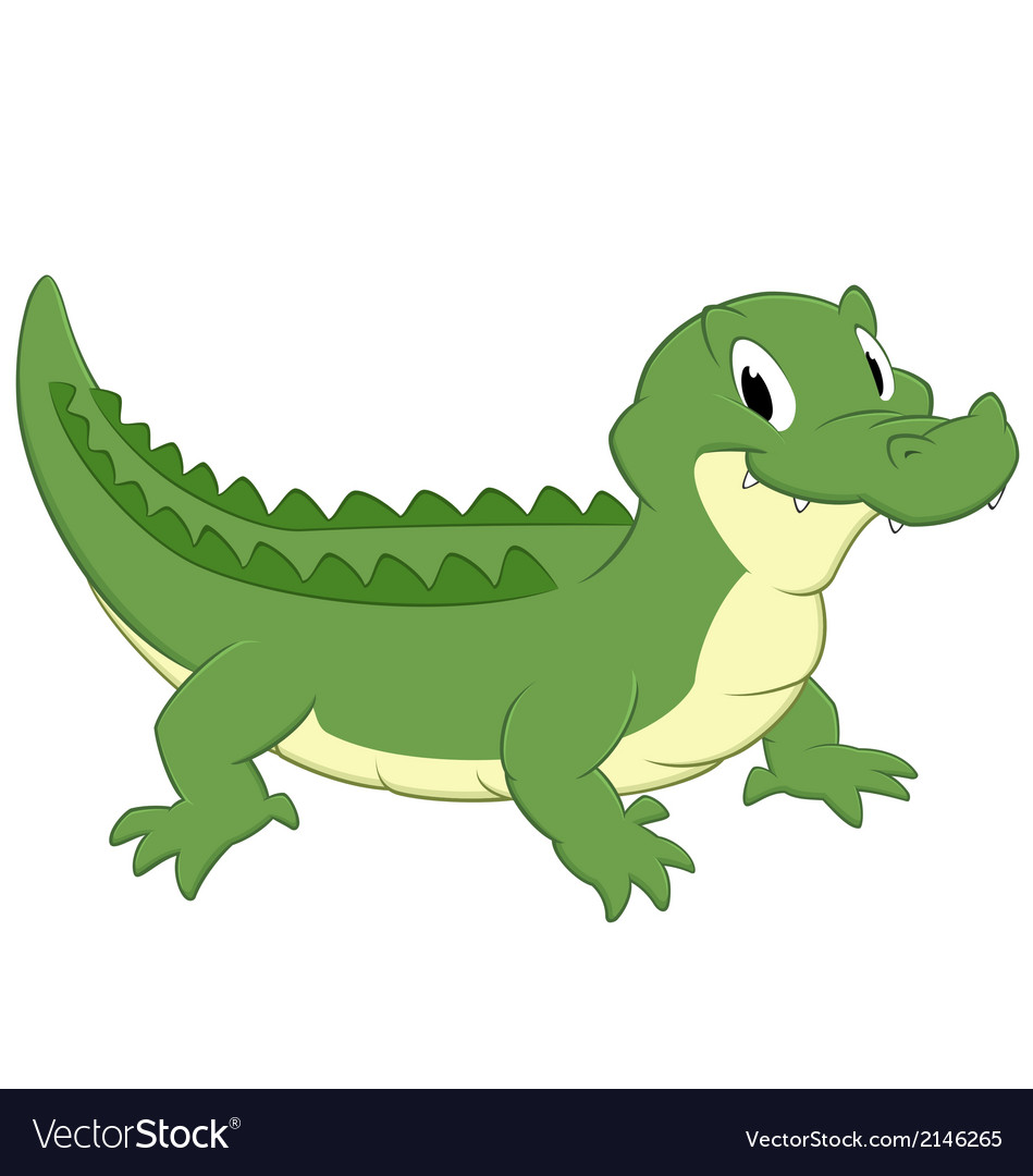 Cartoon Croc Royalty Free Vector Image - VectorStock - photo#10