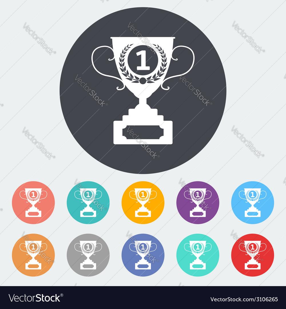 Cup single icon