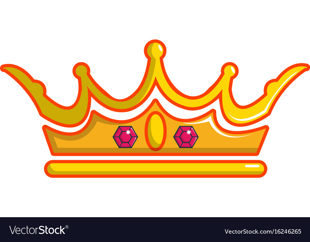 Queen Crown Icon Cartoon Style Royalty Free Vector Image Polish your personal project or design with these queen crown transparent png images, make it even more personalized and more attractive. vectorstock