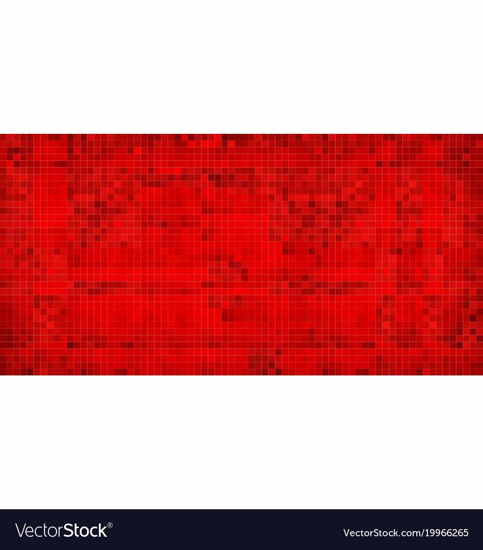 Red abstract grunge background vector image