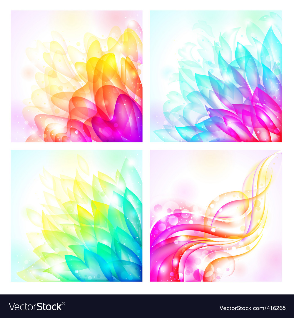 Vector backgrounds vector image