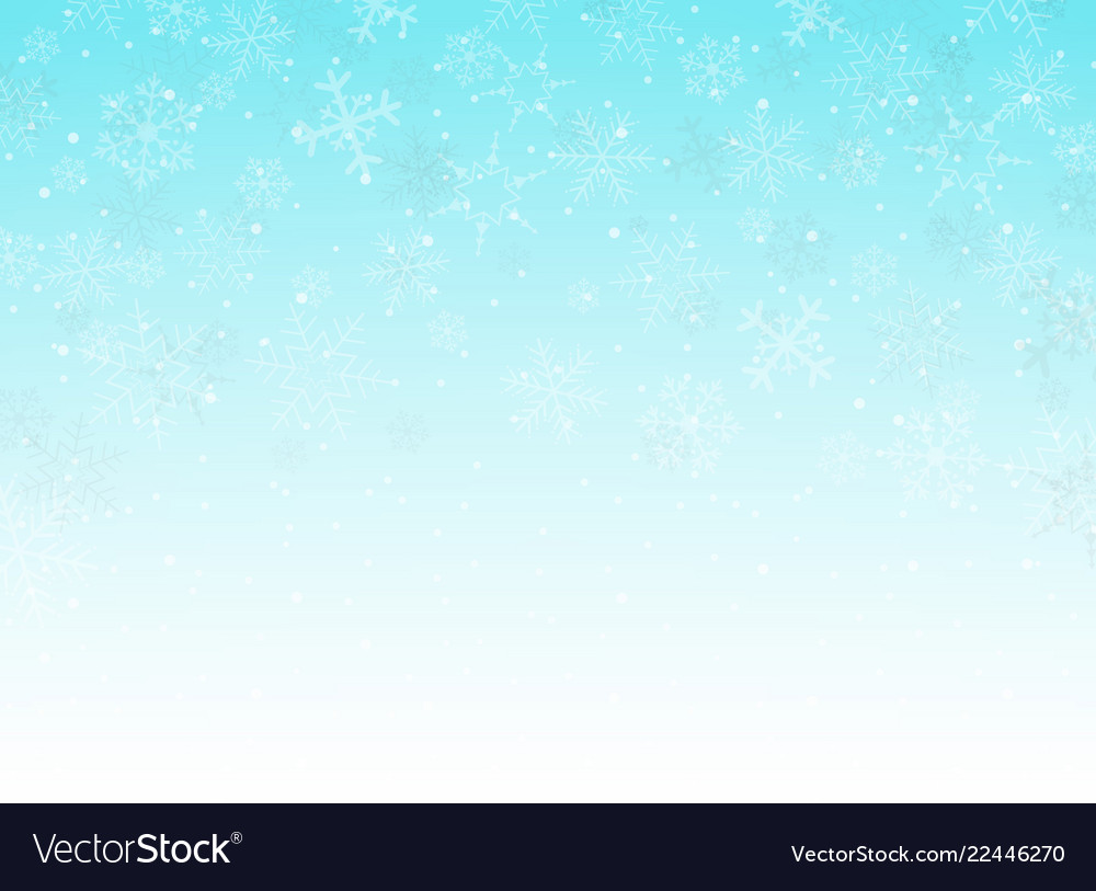 Abstract of blue sky christmas background with