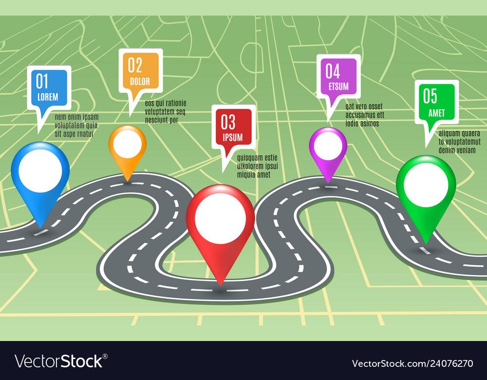 Road map concept