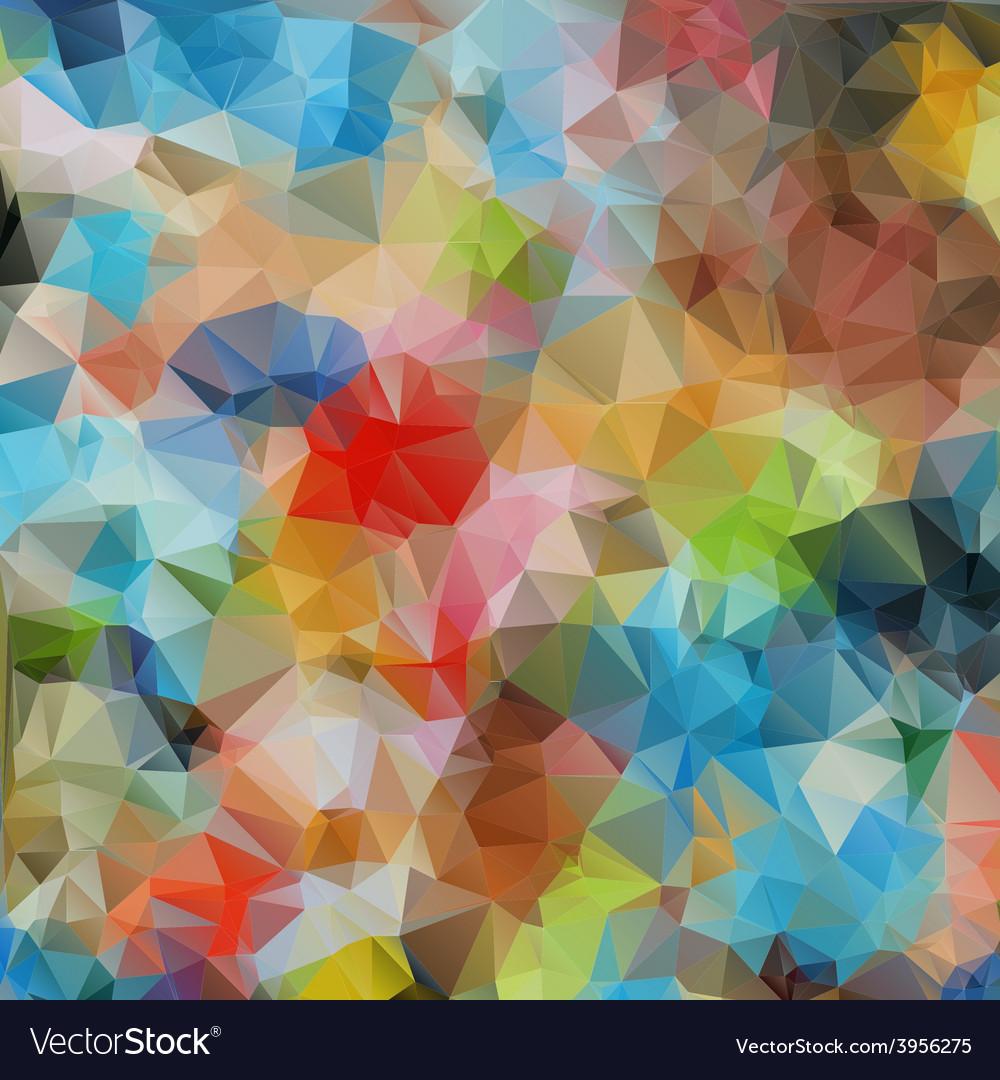 Bright background of geometric patterns