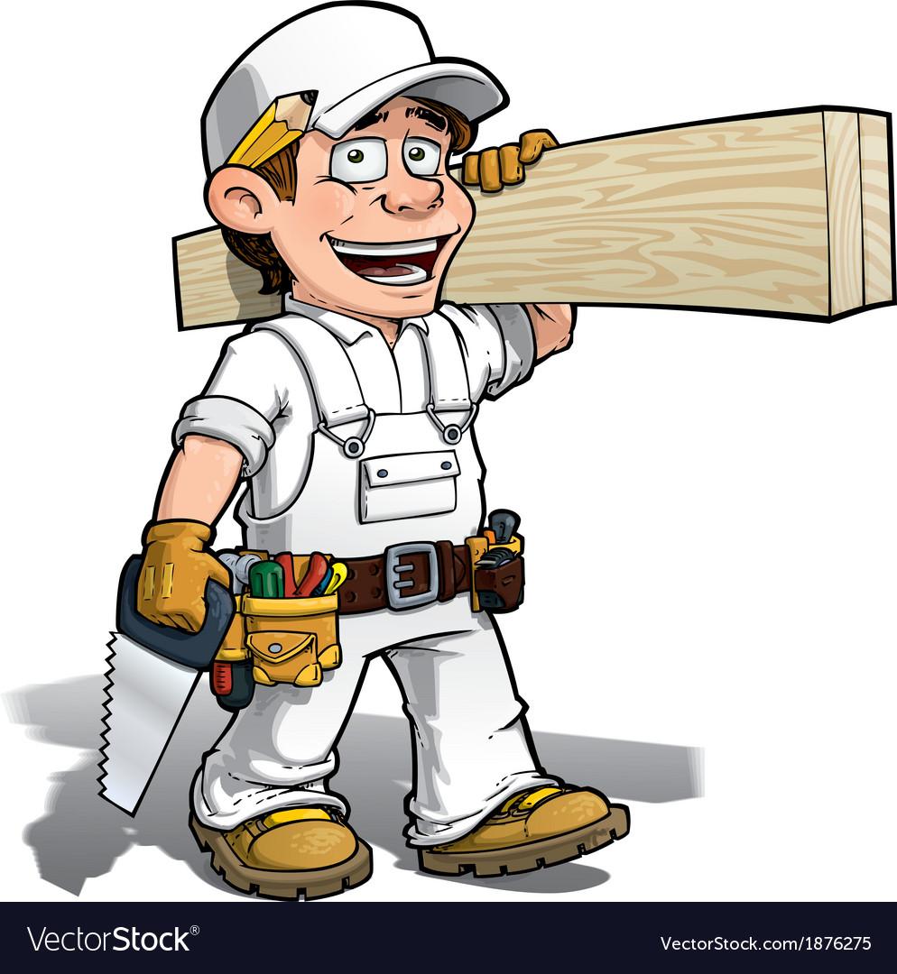 Handyman Carpenter Color it Yourself
