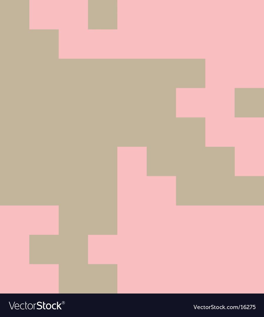 Pixel tooth pattern