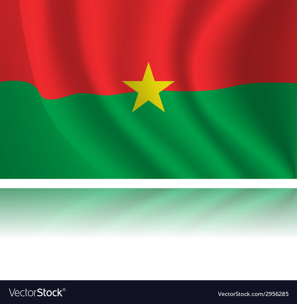 Flag of country vector image
