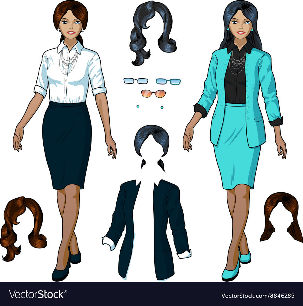 Indonesian Businesswoman in elegant formal wear
