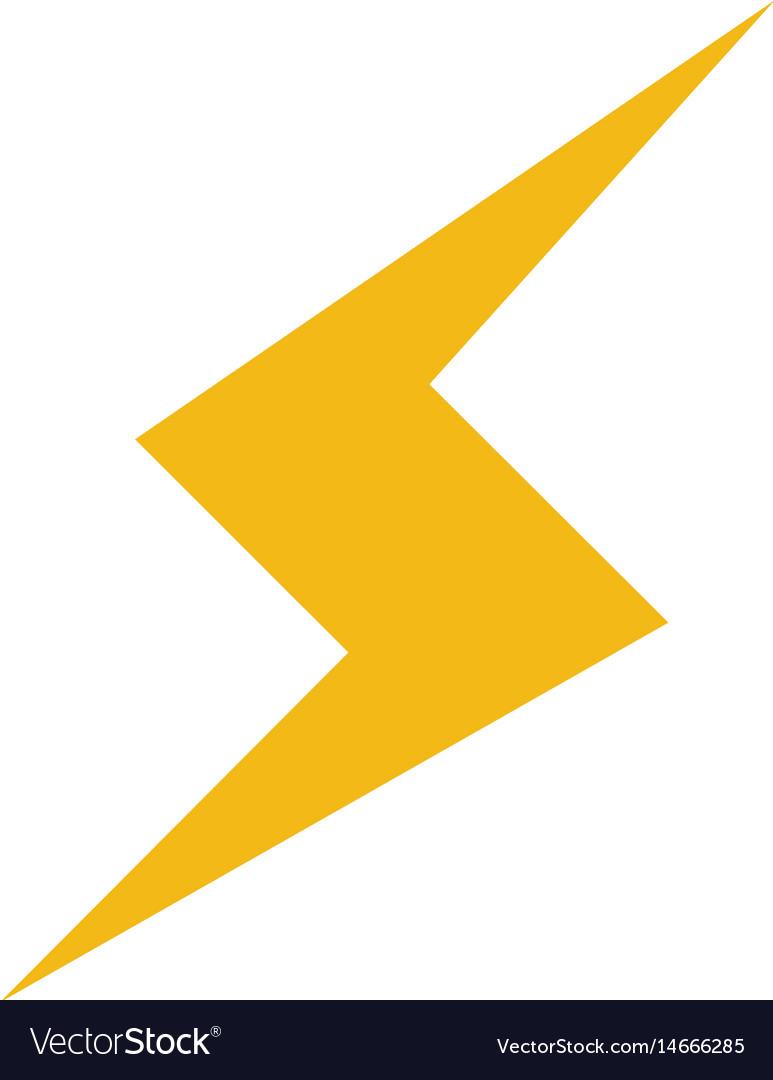 Thunderbolt lightning power energy icon