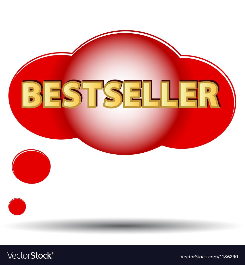 Bestseller logo vector image