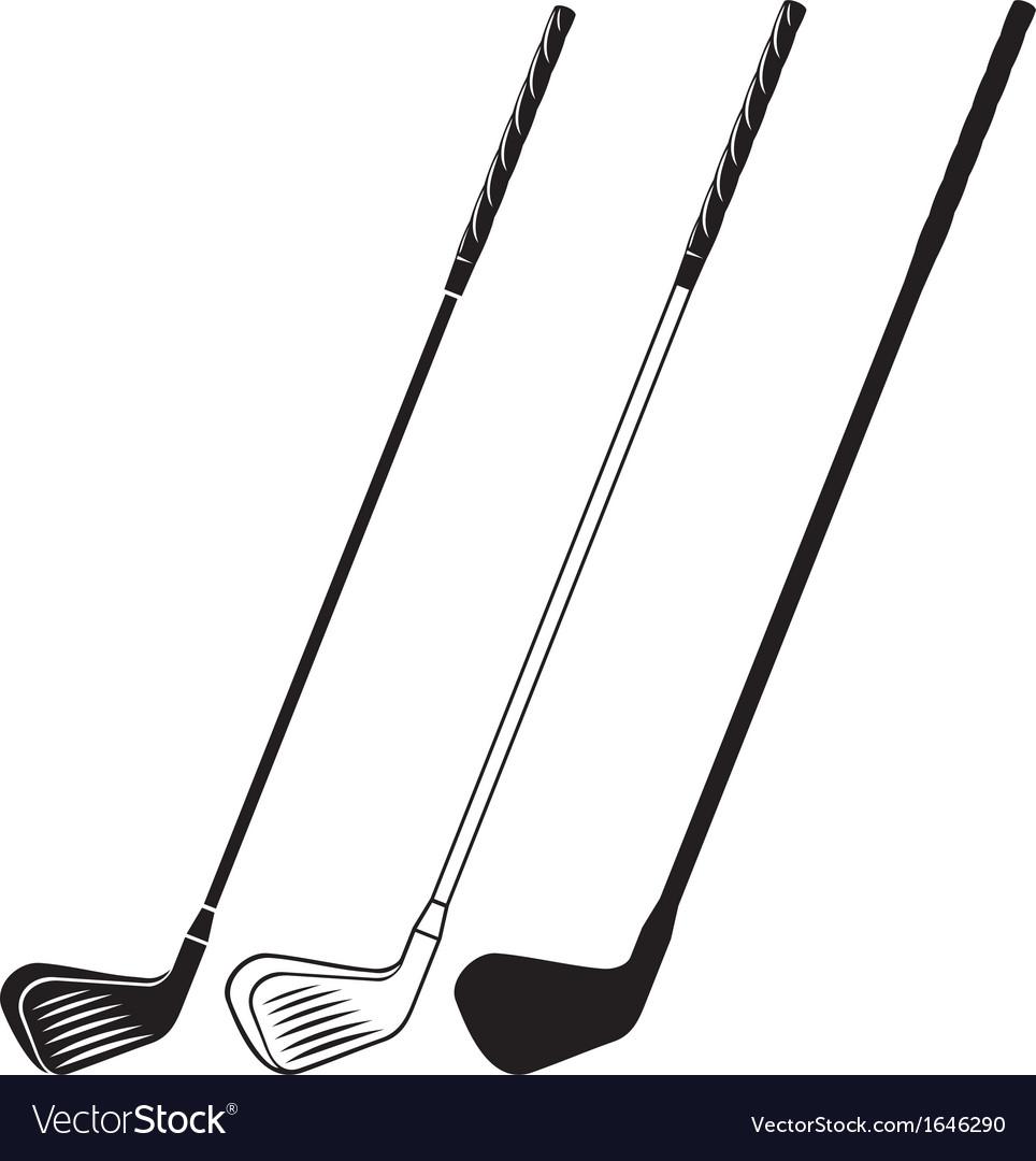 Golf Club Royalty Free Vector Image Vectorstock