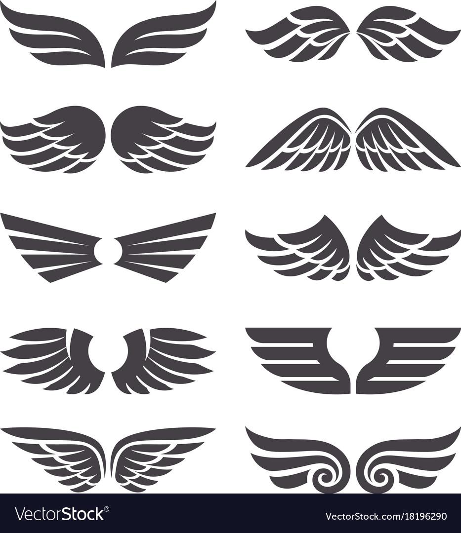 Set of wings