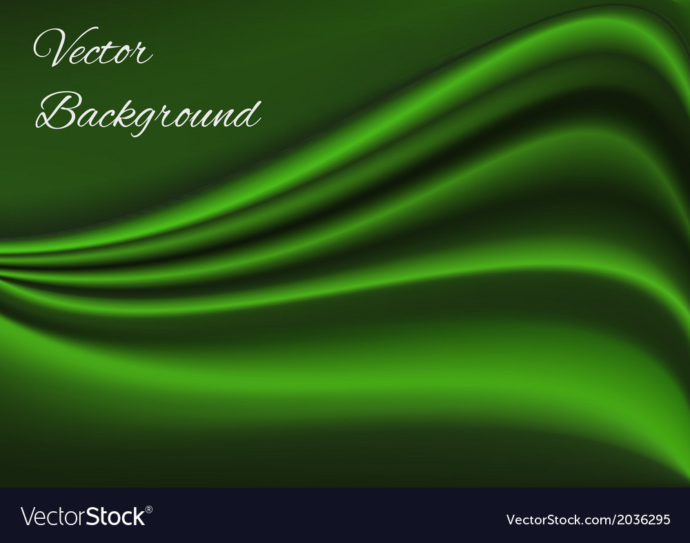 Artistic green fabric texture background