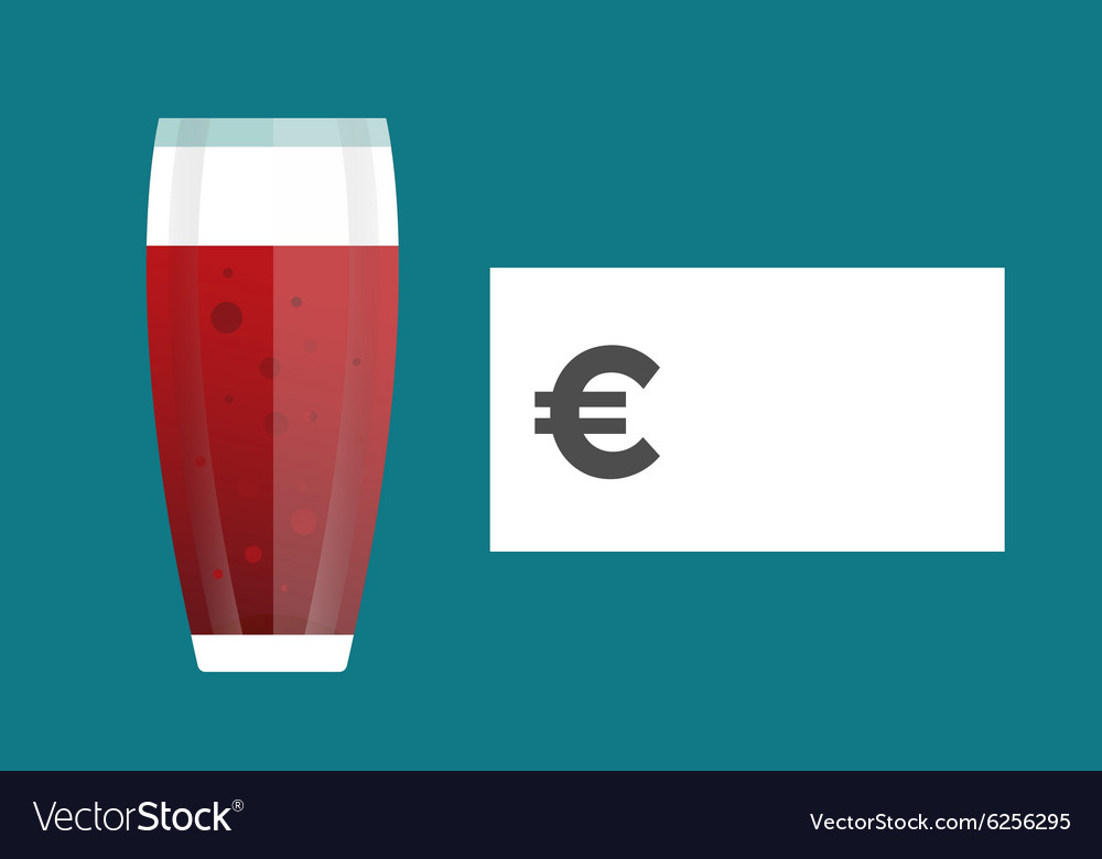 Beer bottle price blank