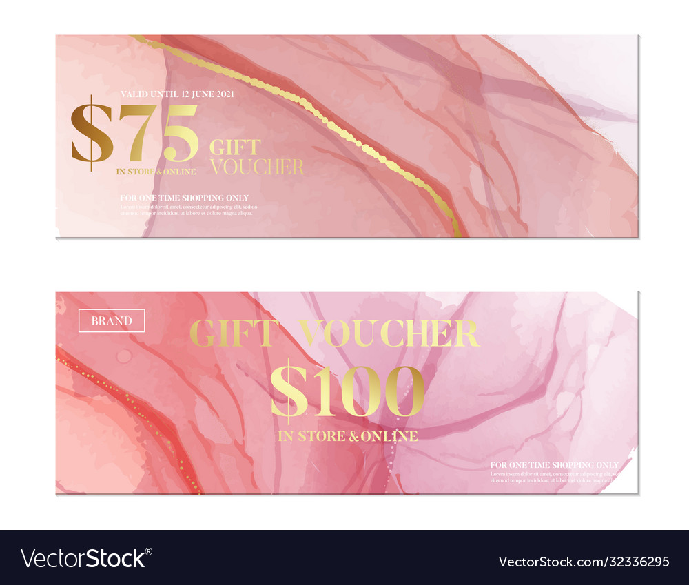 Pink watercolor banner business pattern creative