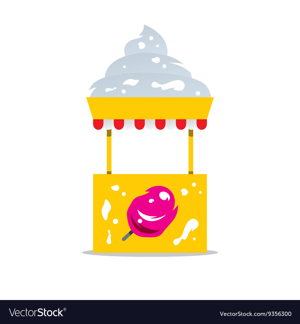 Ice Cream Shop Cartoon