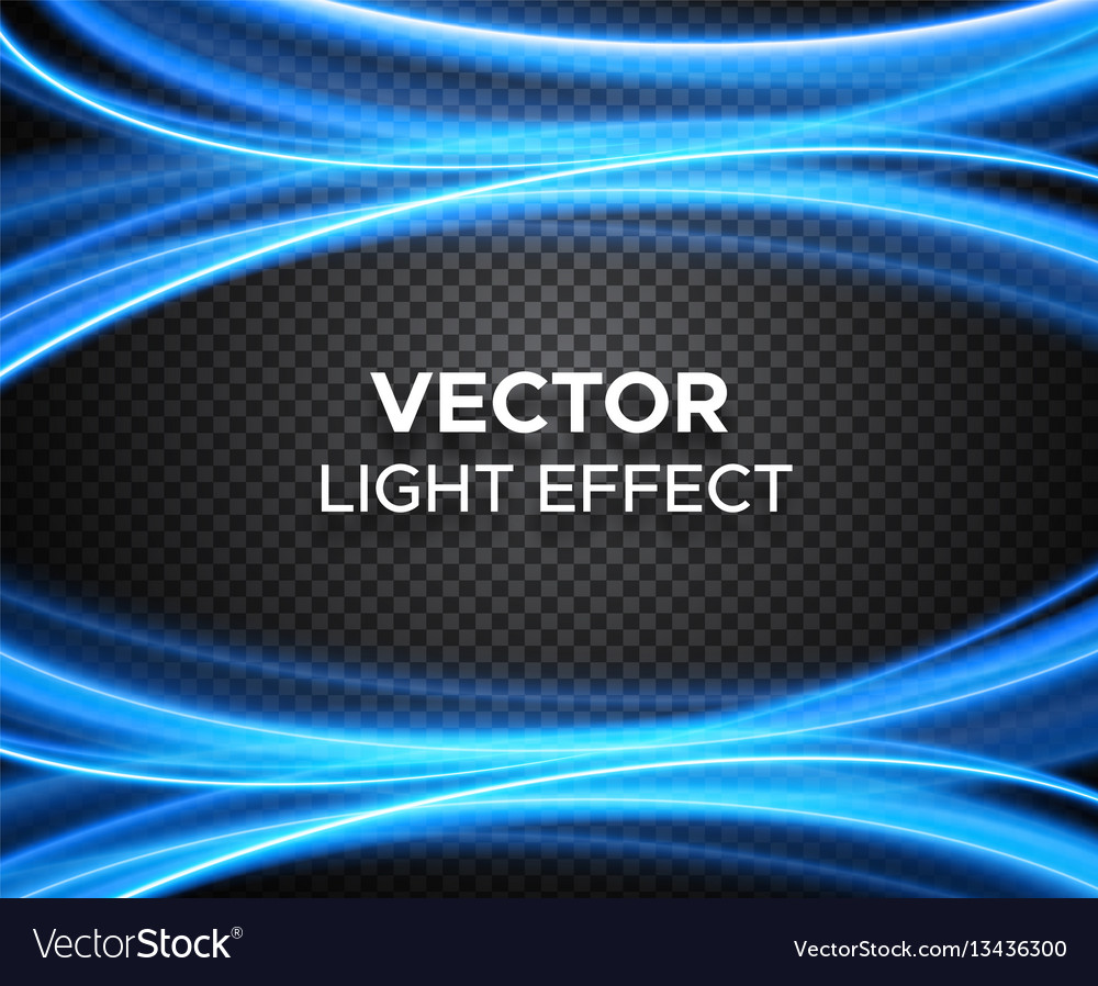 Light effect on checkered background