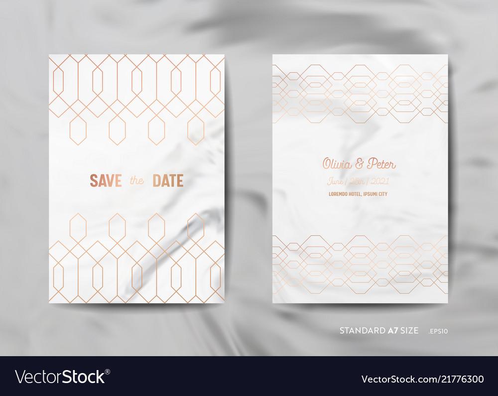 Wedding invitation cards save the date rsvp