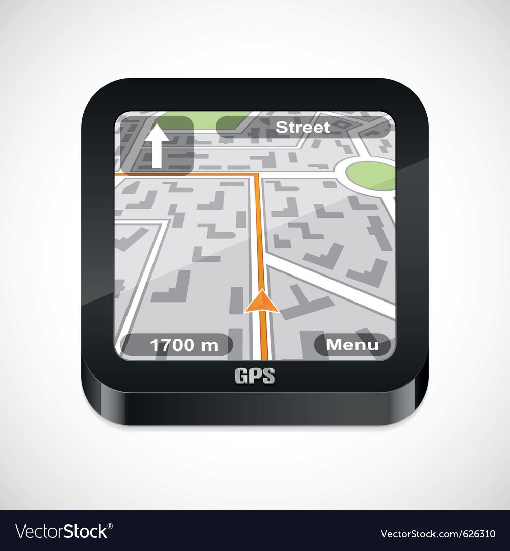 Gps navigator icon