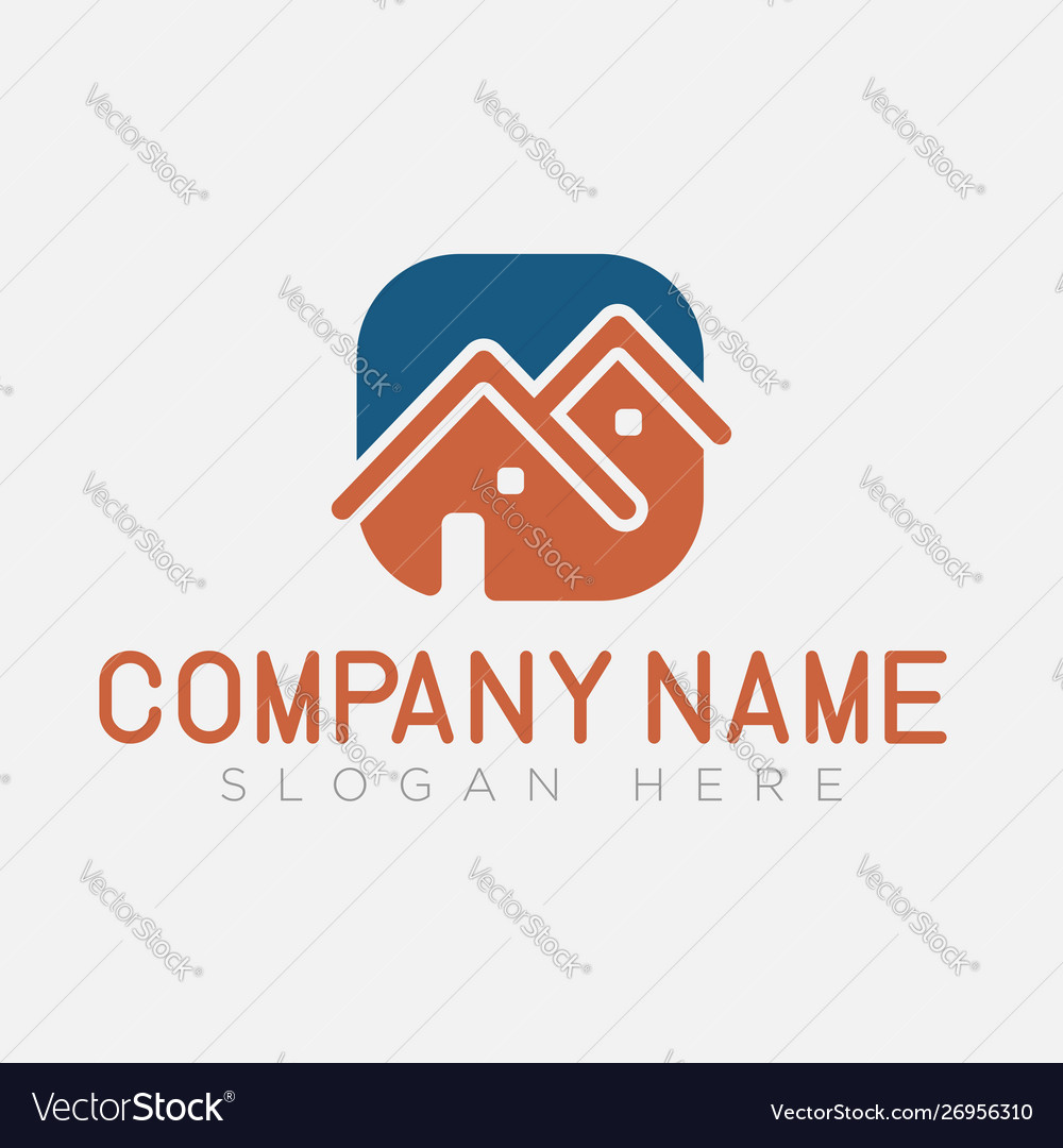 House logo home building logo and symbol