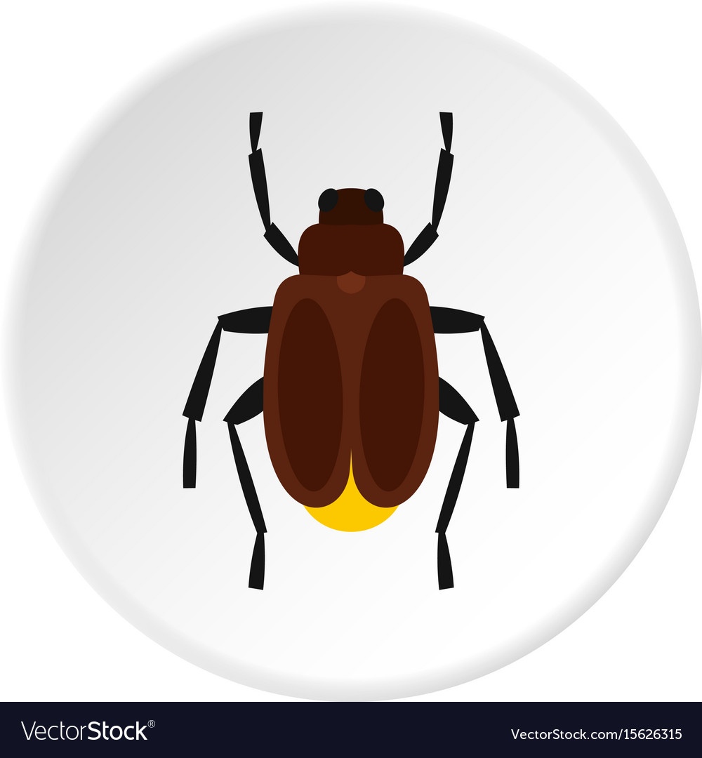 Harvest bug icon circle