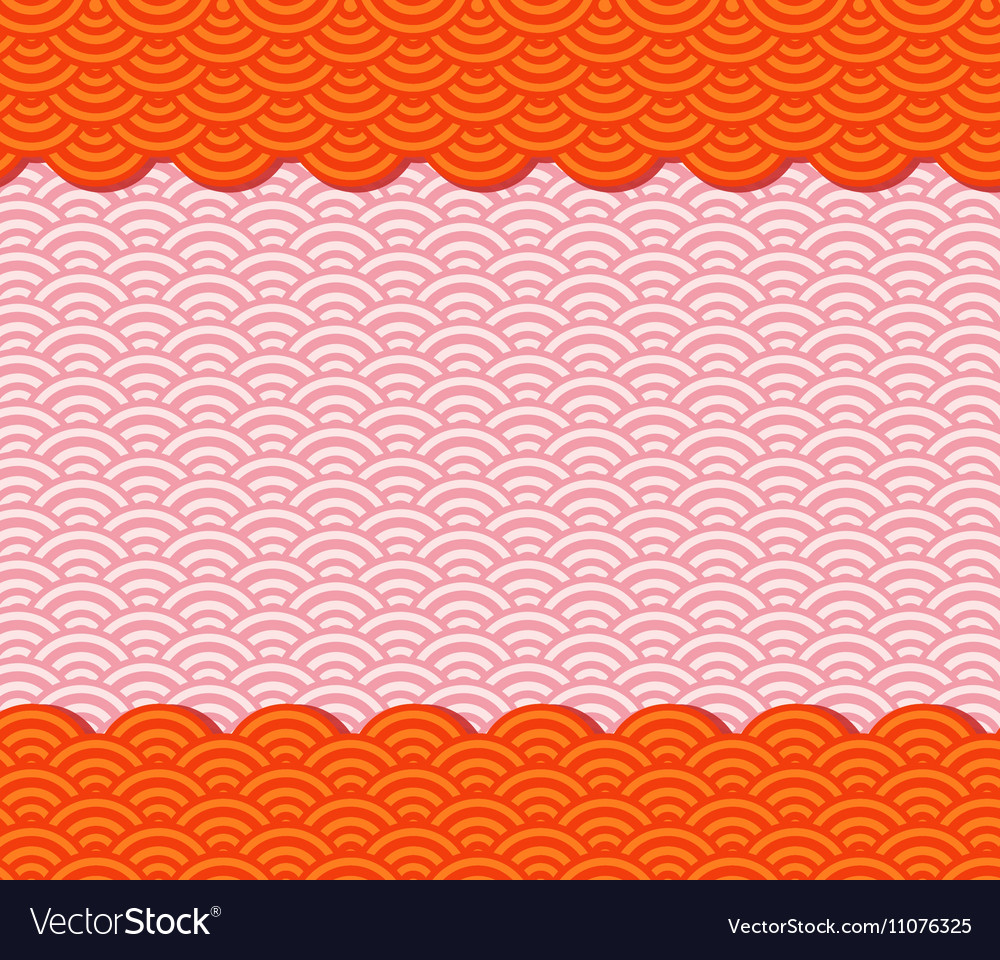 chinese new year pattern background vector image