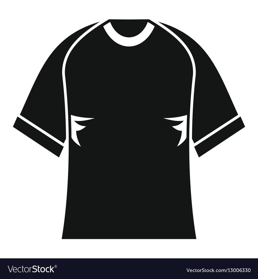 Raglan tshirt icon simple style