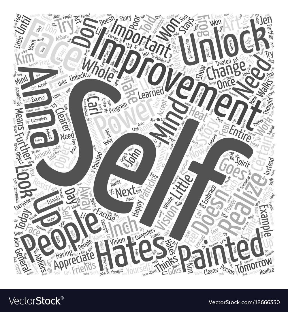 Unlock your self improvement power Word Cloud