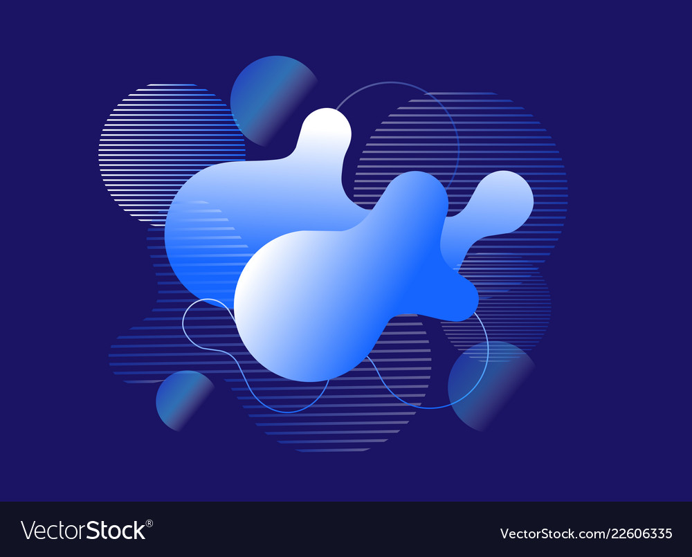 Modern abstract geometric background