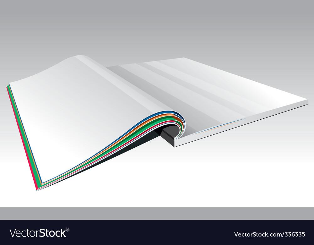 Open magazine vector art - Download Data vectors - 336335
