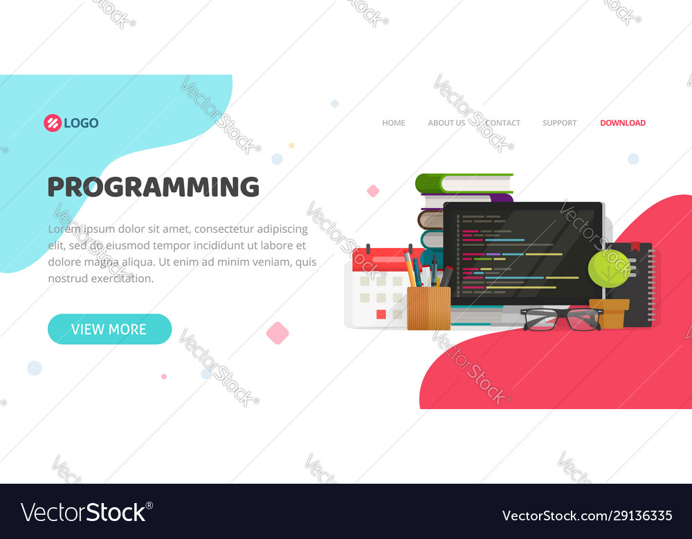Programming or coding service agency website