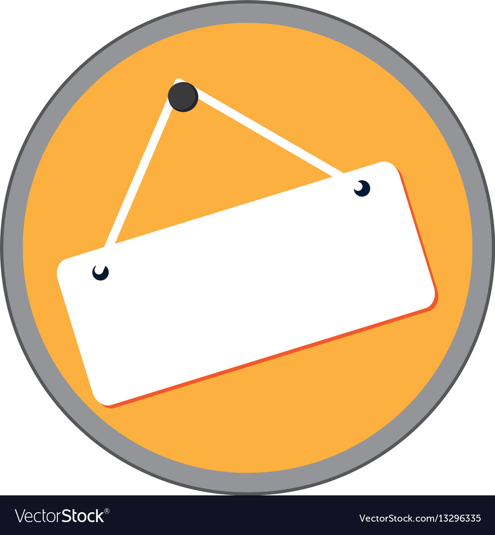 Store label door icon vector image