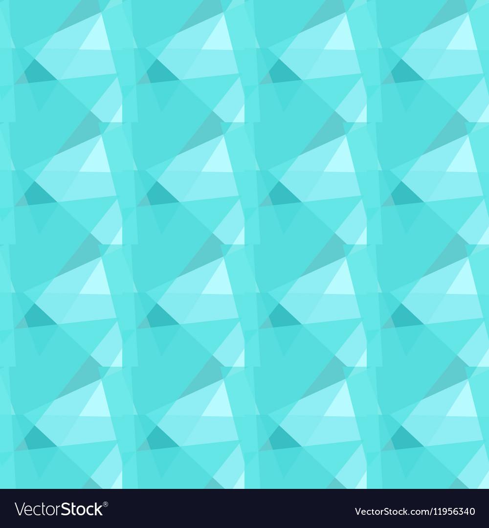 Abstract polygonal blue triangular seamless