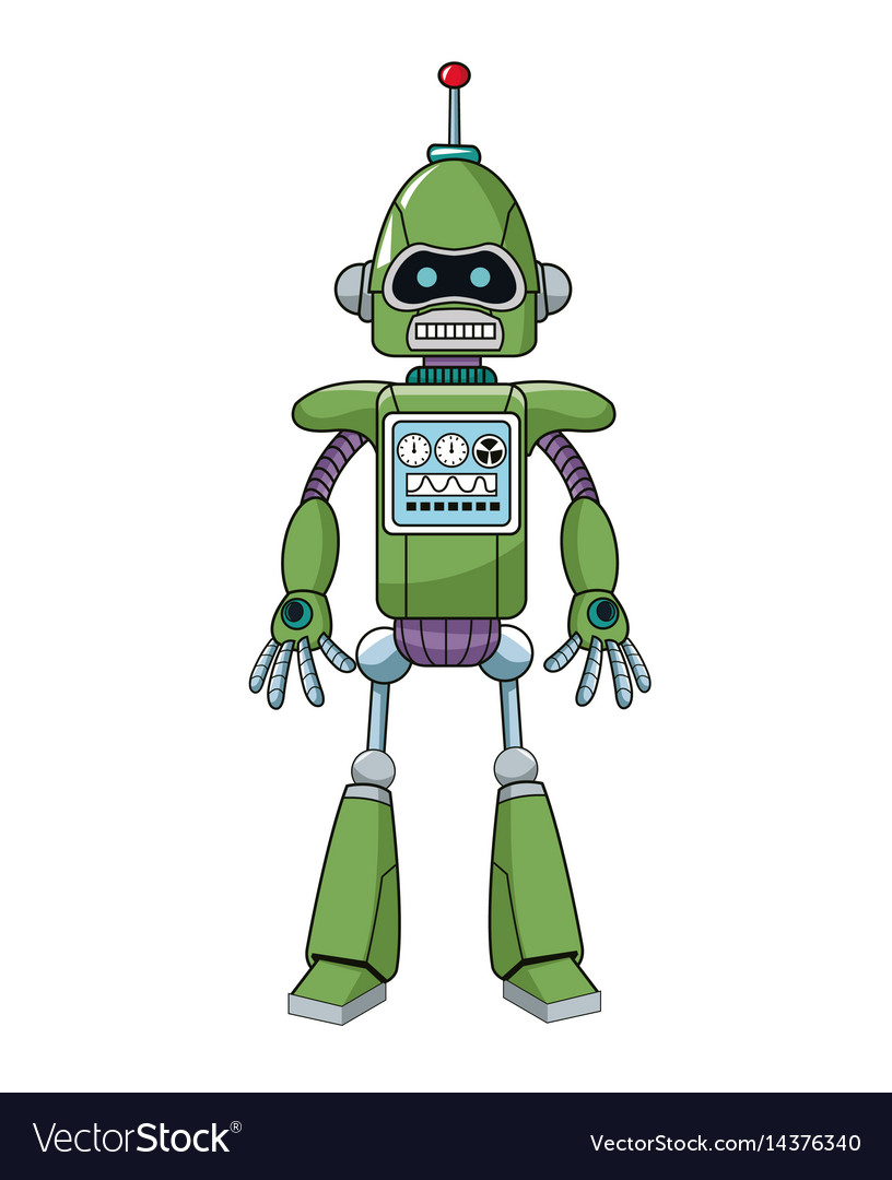Green robot machine engineering