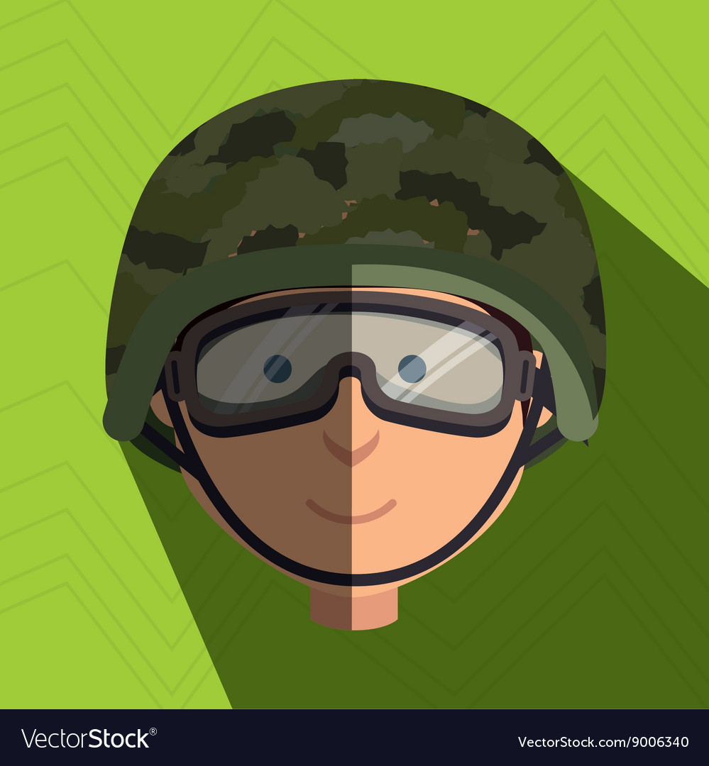 War soldier design