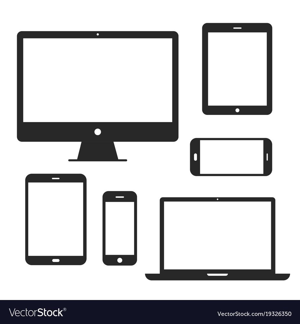 Device screen icon set