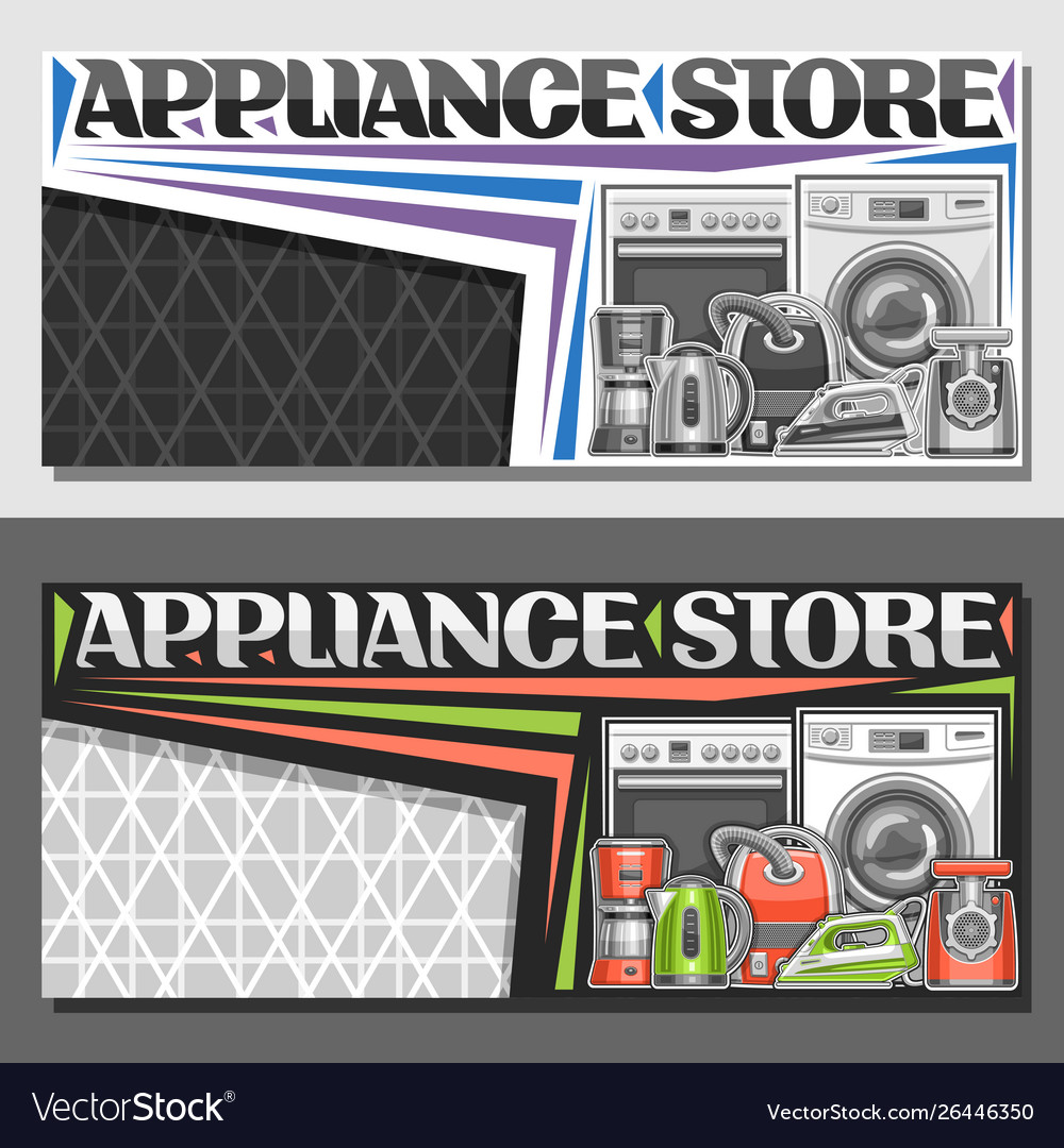 Layout for appliance store