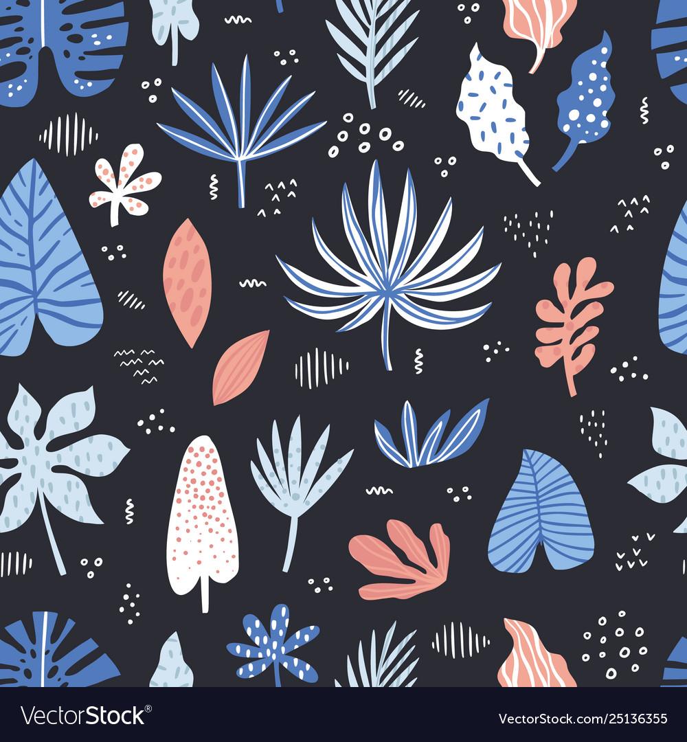 Aloha hawaii hand drawn seamless pattern
