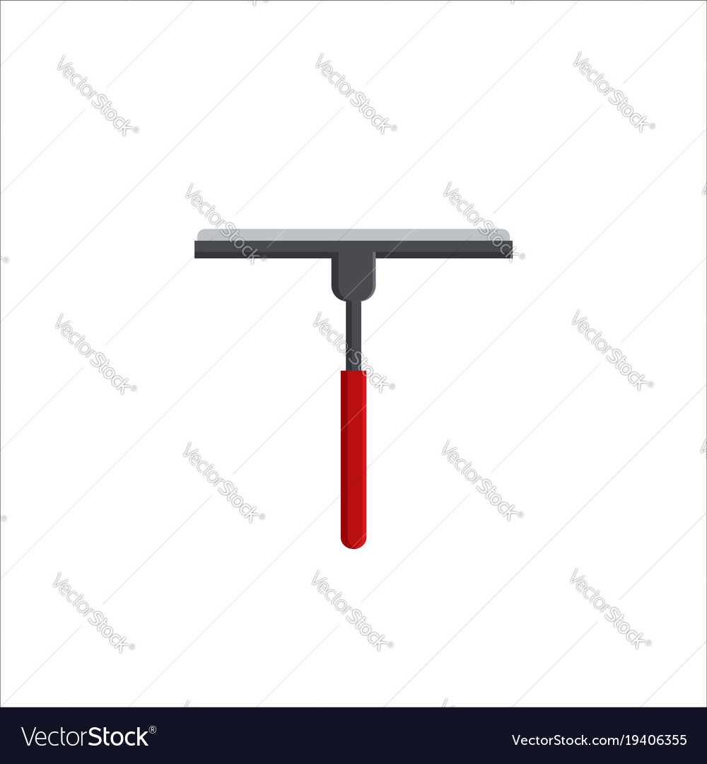 Cleaning service brush or squeegee for cleaning