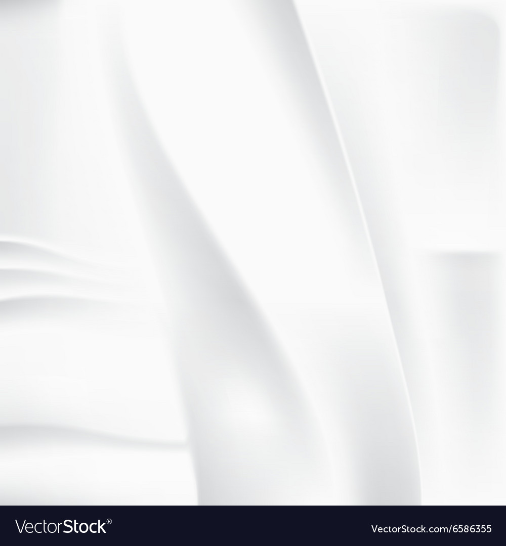 Creased white cloth material template Royalty Free Vector