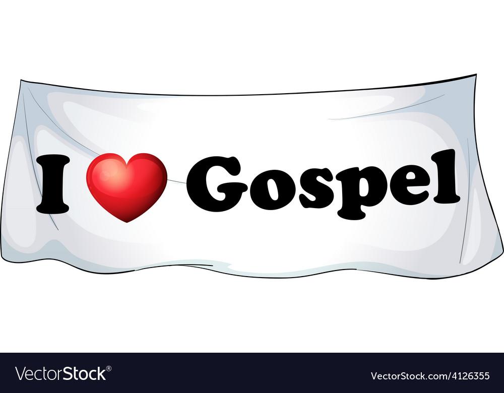 Svg Dxf Eps Png Jpg I love gospel music Word Art Logo design I love gospel music wall decor Word in heart shape