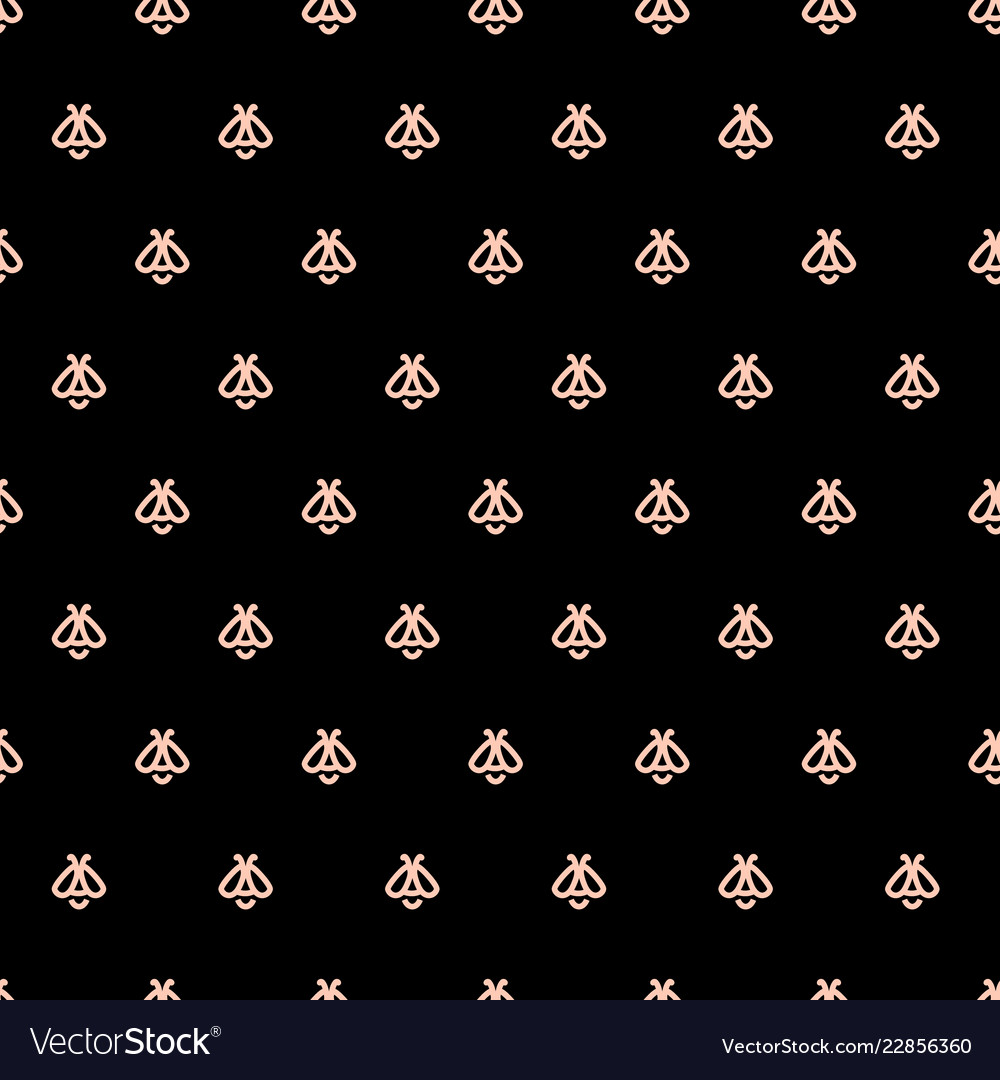 Honey bee seamless pattern apiculture