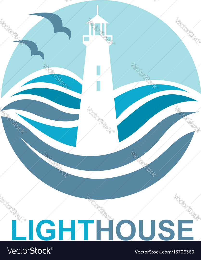 Lighthouse icon design
