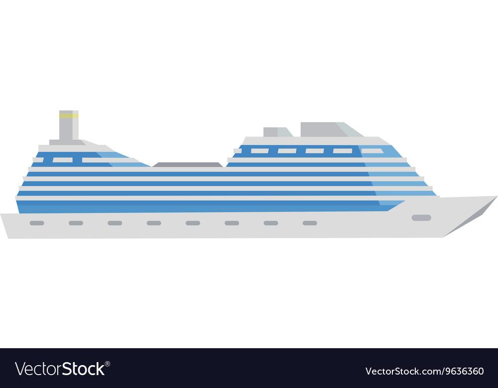 White Cruise Boat