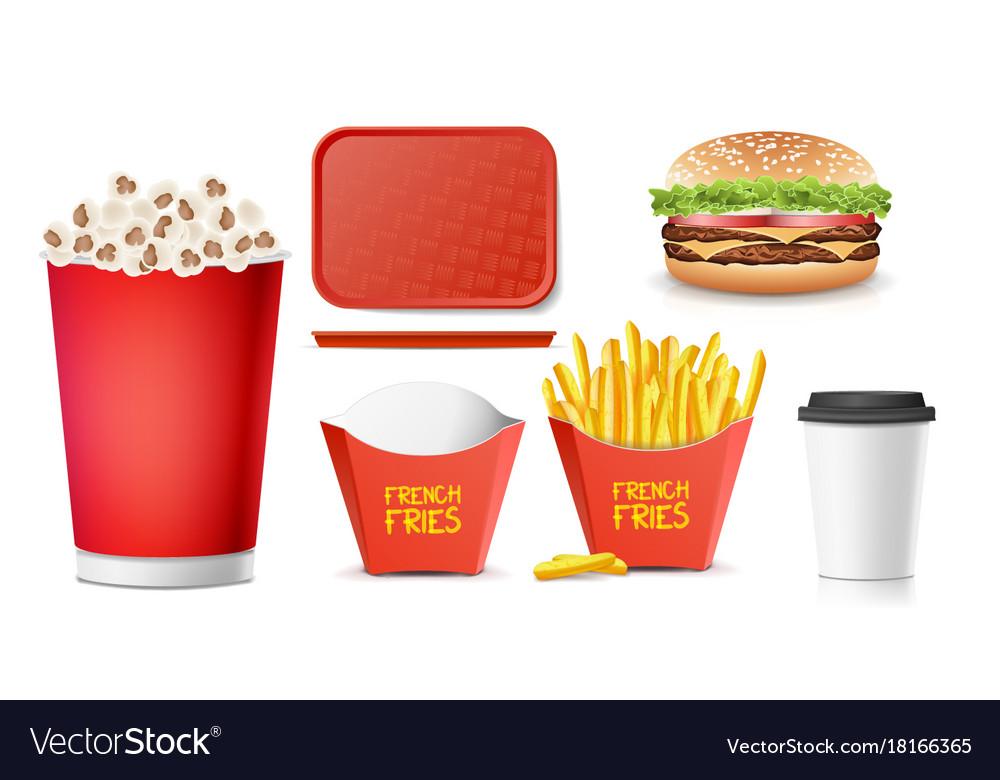 3d fast food tasty burger hamburger