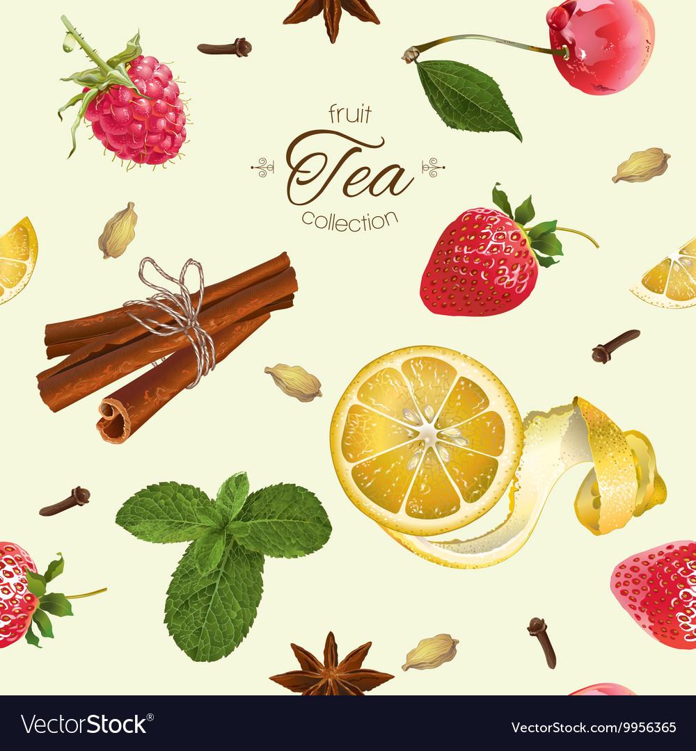Aromatic tea pattern