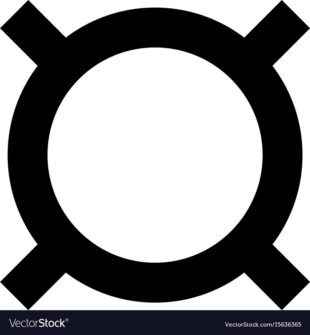 Computer symbol any currency the black color icon vector image