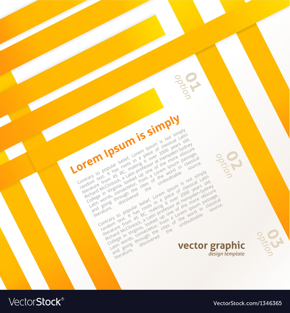 Line Abstract Background vector image